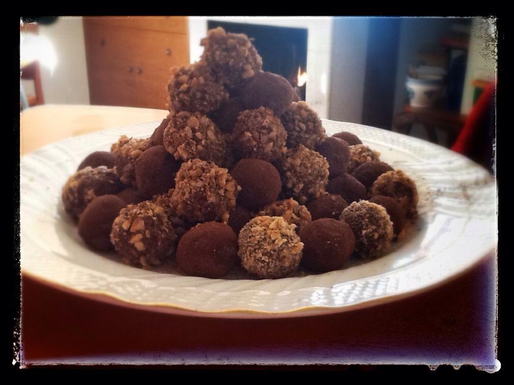 Cioccolatini di crema di castagne..