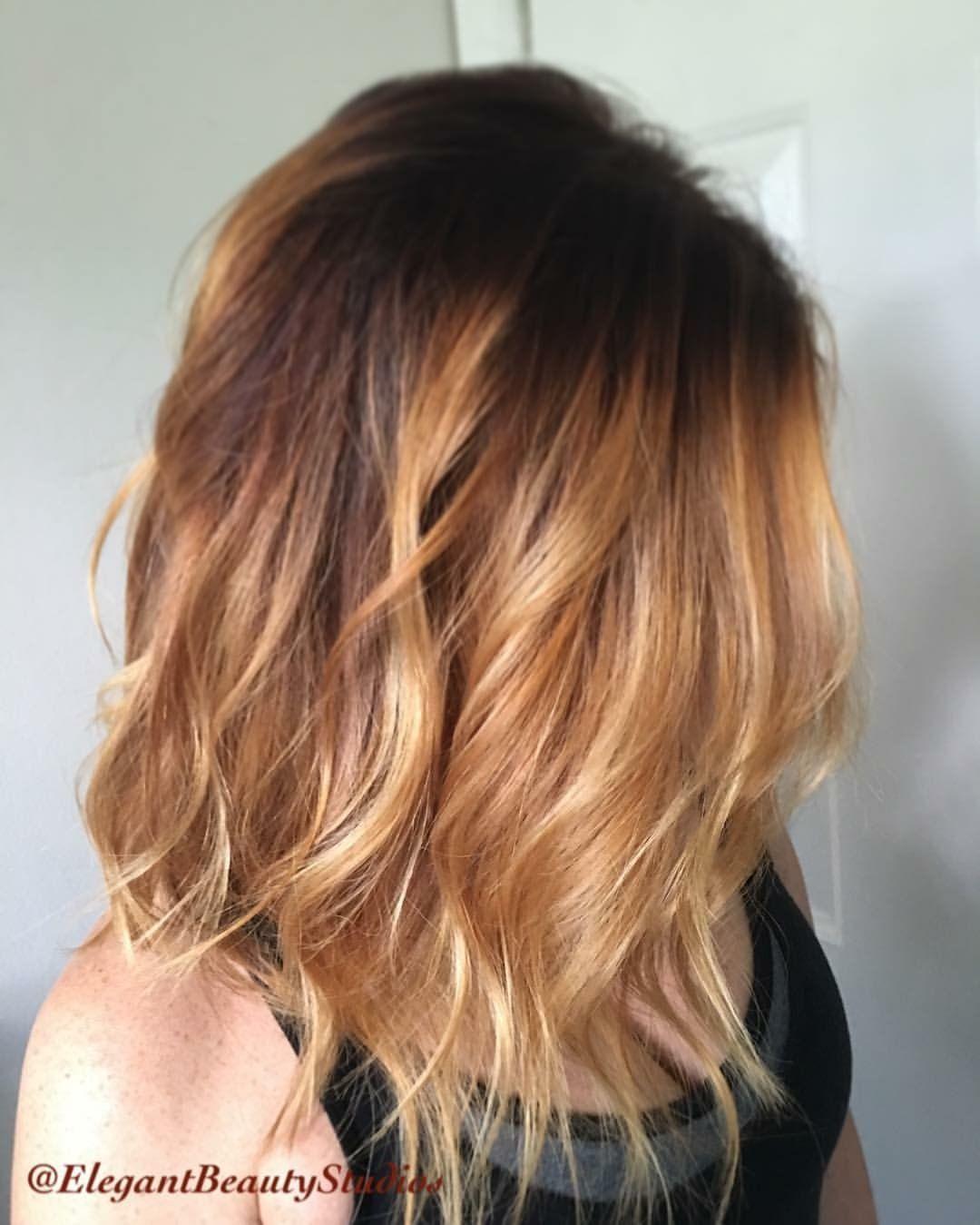 Balayage Red Tones Strawberry Blonde Hair Color Tear Drop Hair Color Hair Rose Hair Color Strawberry Blonde Hair