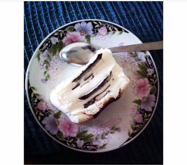 ••• Deliziosa torta panna e cioccolato, perfetta per un dessert estivo. 😍 •••