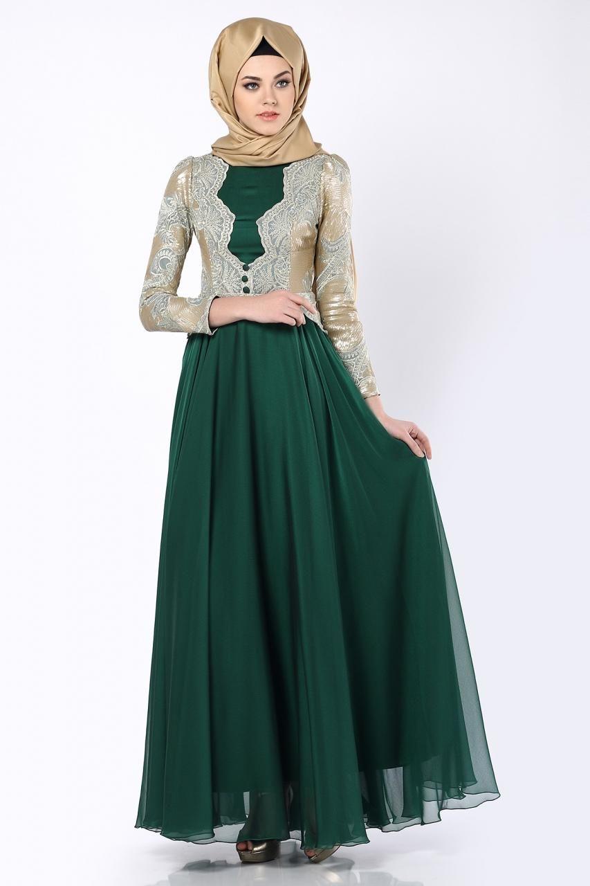 أحلى فساتين طويلة دانتيل للمحجبات موديلات موضة جديدة عالم الصور Muslim Fashion Dress Muslim Evening Dresses Simple Long Dress