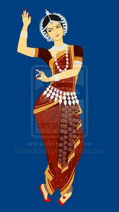 Indian Dance Forms 2 Odissi By Madhuchhanda On Deviantart Indian Dance Dance Paintings Indian Classical Dance
