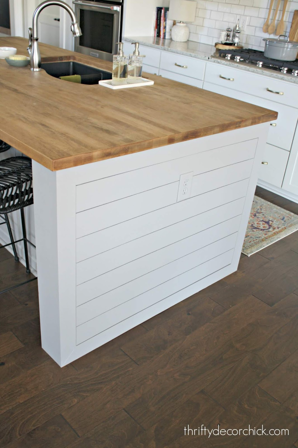 Pretty Kitchen Island Transformation For Less Than 100 In 2020