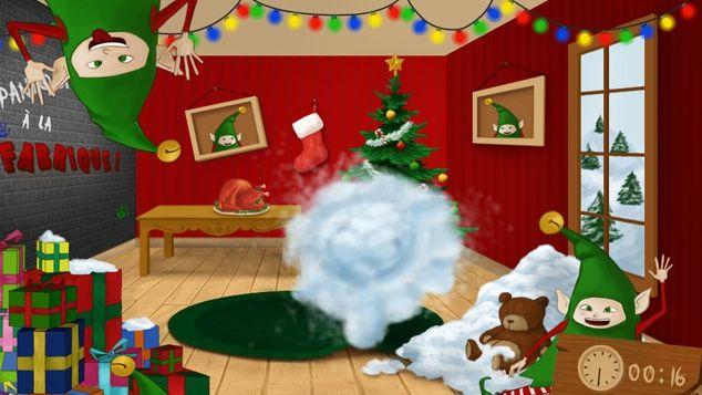 Mini-jeux de Noël