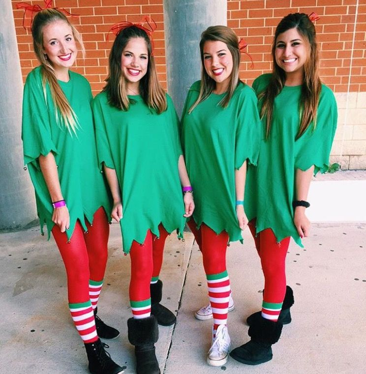 Pin by Kasey oliver on school | Spirit week outfits, Christmas elf outfit, Christmas elf costume