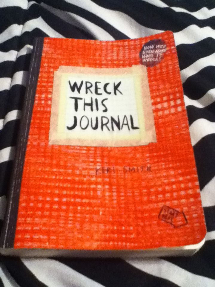 FINALLY MY OWN WRECKING JOURNAL