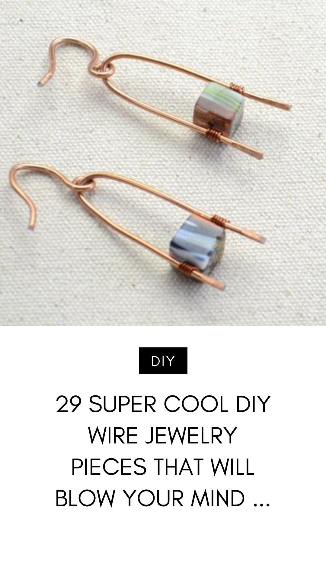 Photo of 29 Super Cool Diy Wire Schmuckstücke, die Sie umhauen werden …