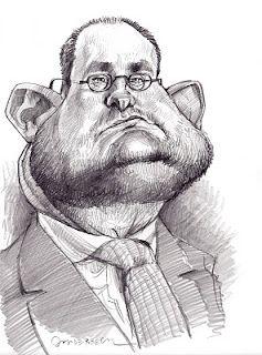 Artist:Jan Op De Beeck Caricature:Vincent Van Quickenborne