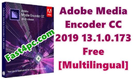adobe media encoder cc 2017 crack free download