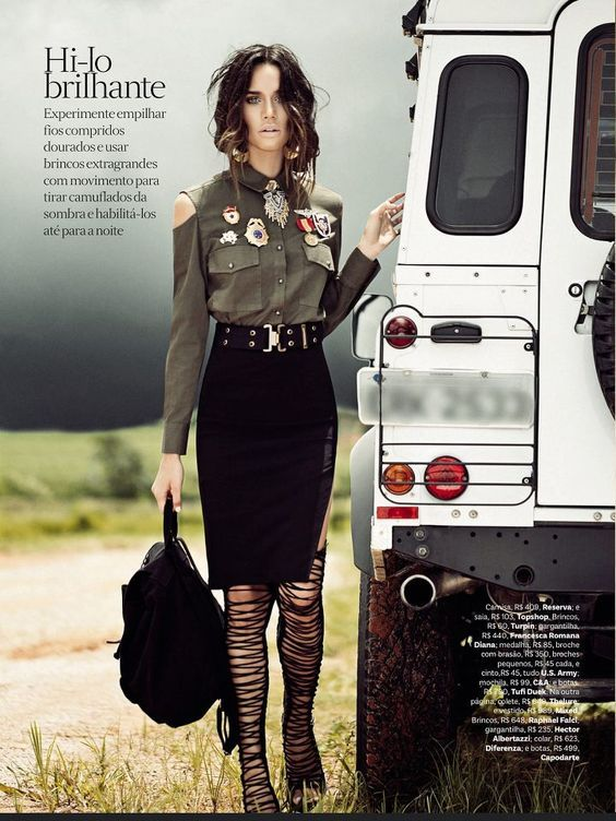 S in Fashion Avenue: TREND ALERT: MILITARY INSPIRED STYLE ...