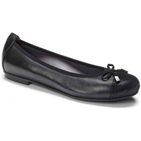 Vionic Womens Minna Black Dress Shoes 120 Liked On Polyvore