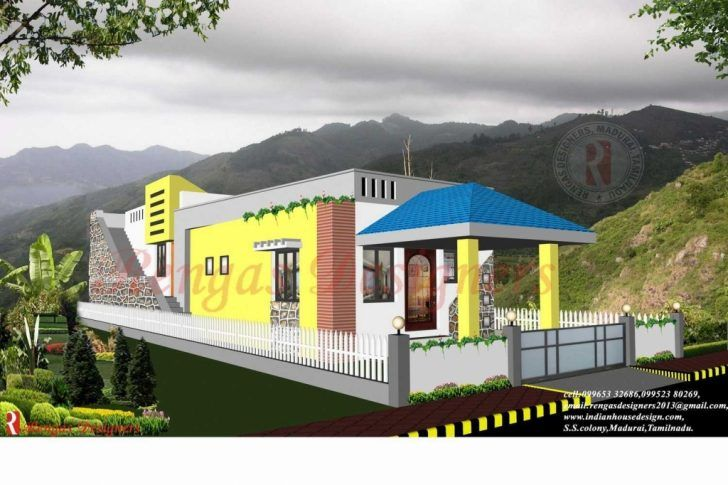 Small Budget House Plans Tamilnadu Archives Jnnsysy | Duplex ...