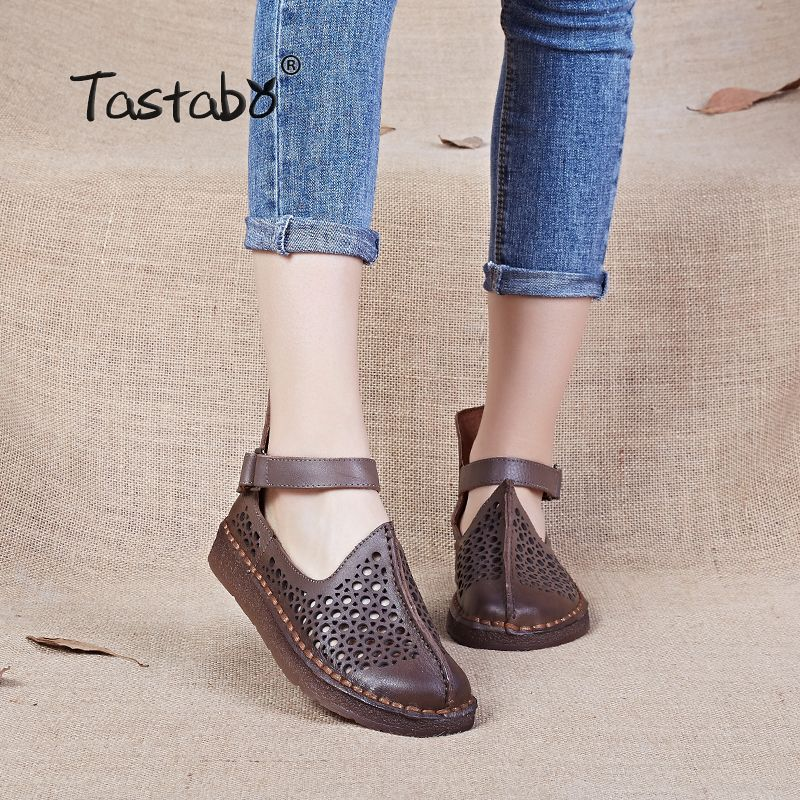 Cheap Womens Driving Shoes Buy Quality Driving Shoes Directly From China Genuine Leather Flats Women Suppliers Tastabo Ladies S Babetler Sandalet Ayakkabilar