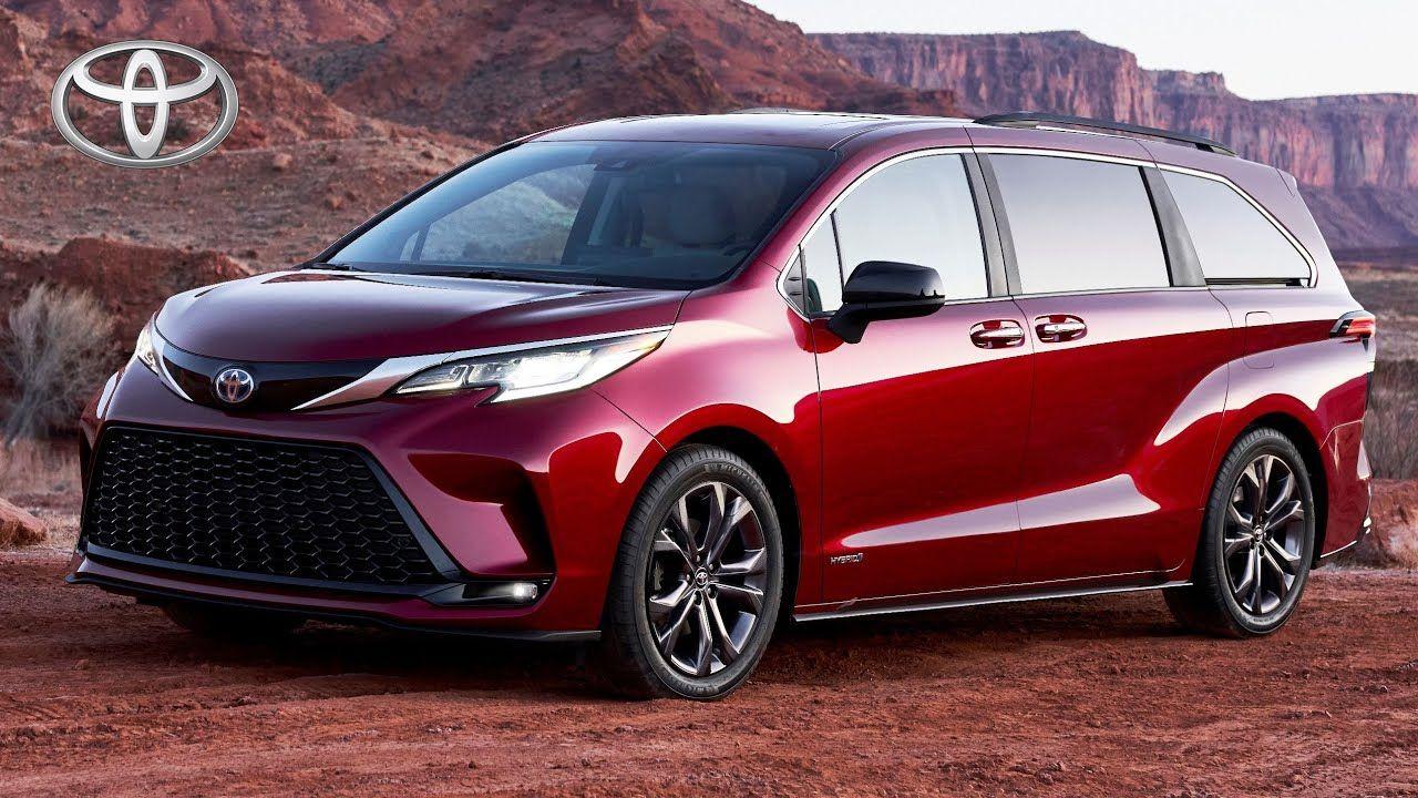 2021 Toyota Sienna In 2020 Toyota Sienna Toyota Hybrid Mini Van