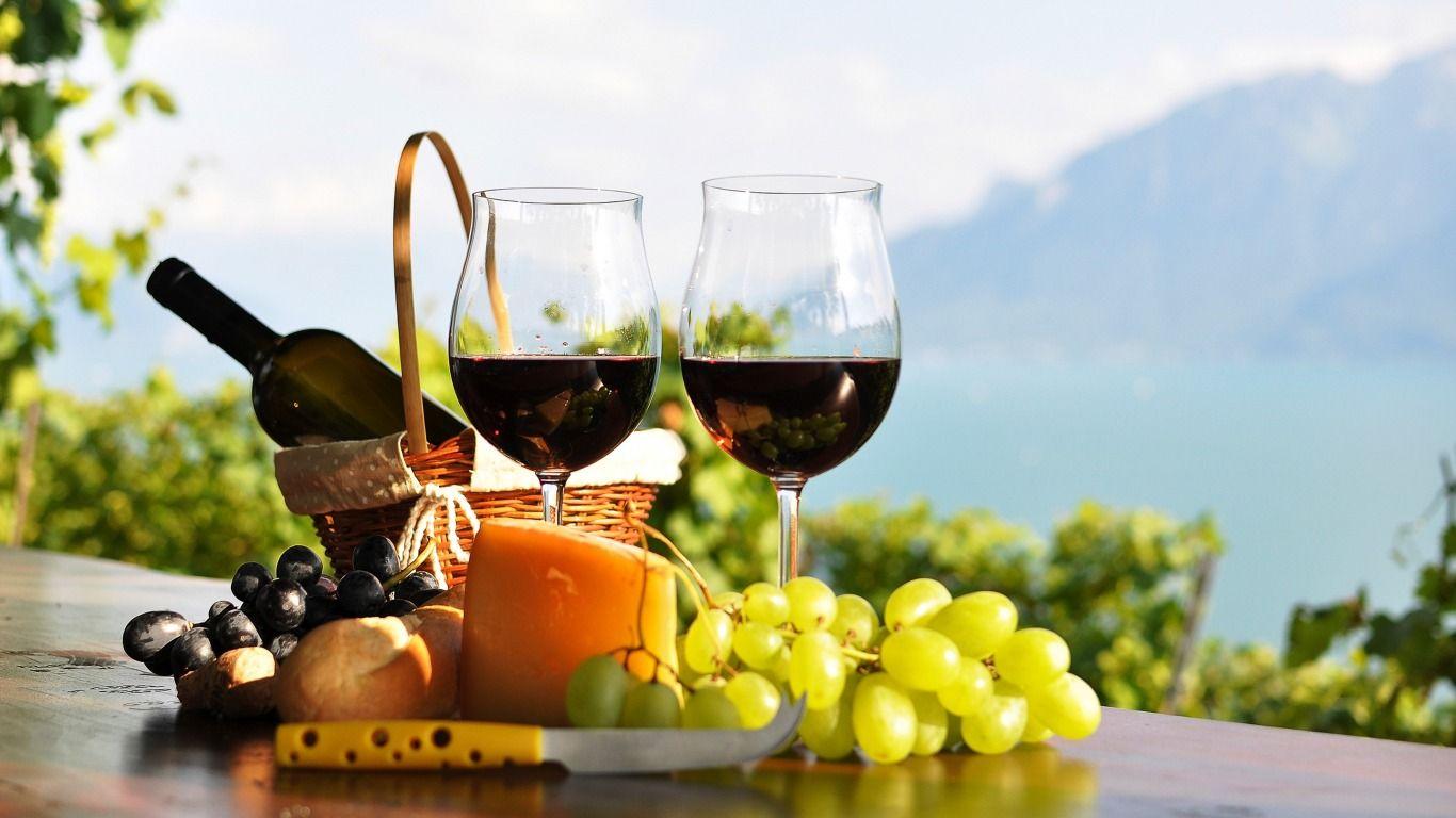 Обои вино, wine, виноград, Grapes, сыр, бутылка, красное, cheese. Еда foto 13