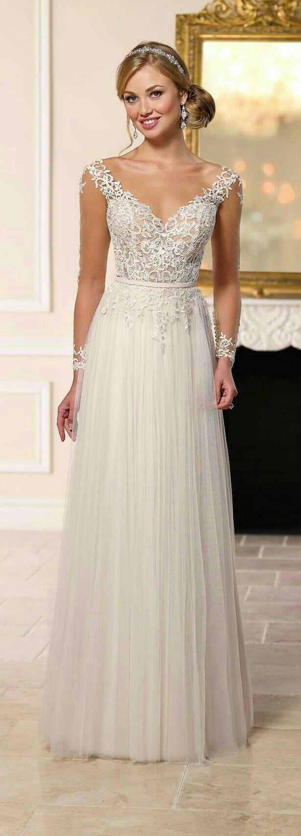 Vestido de noiva | Vestiditos | Pinterest | Hochzeitskleidung ...