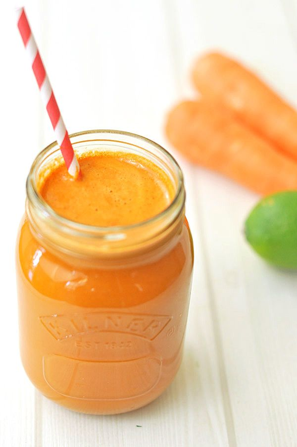 ᗋ‧:•★•: Լ...Carrot Apple Ginger Juice