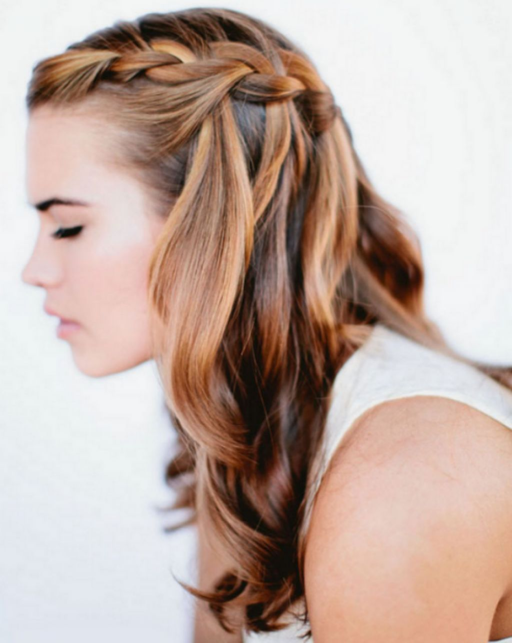 Amazing Beautiful Long Hair And Simple Hairstyles On Pinterest Hairstyle Inspiration Daily Dogsangcom