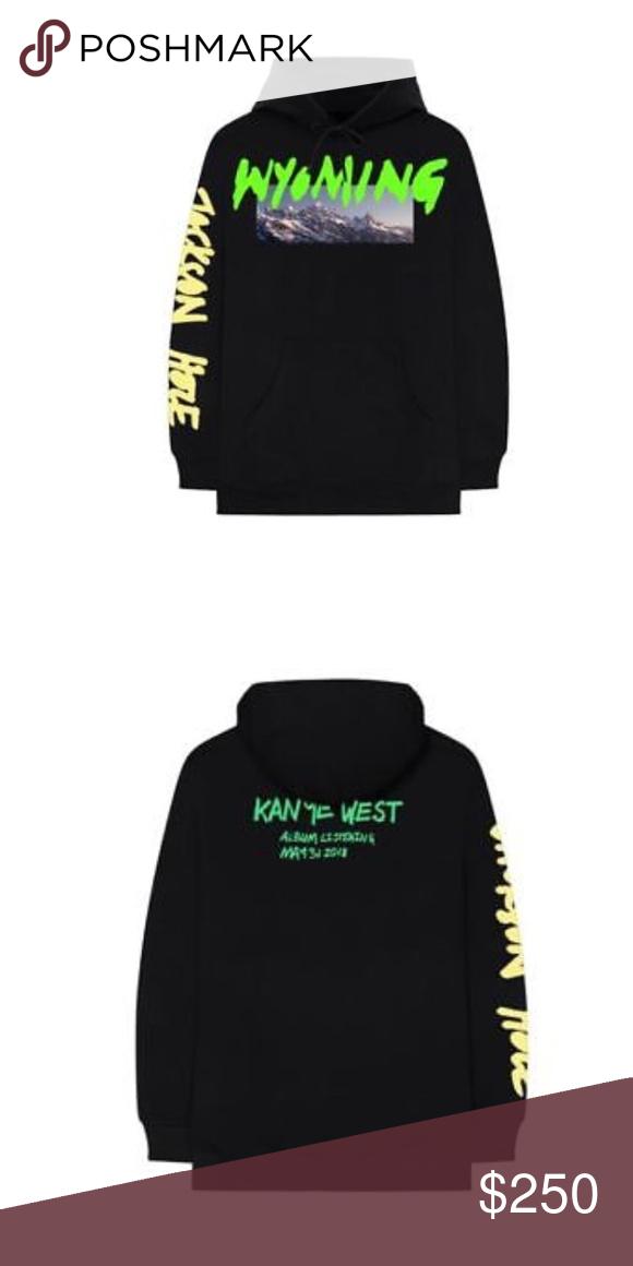Kanye West Wyoming Sweatshirt Lg Yeezy Shirt Sweatshirts Hoodies