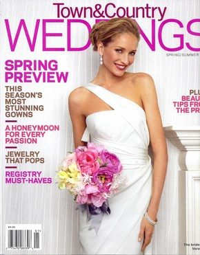 Wedding Magazine Town And Country Weddings