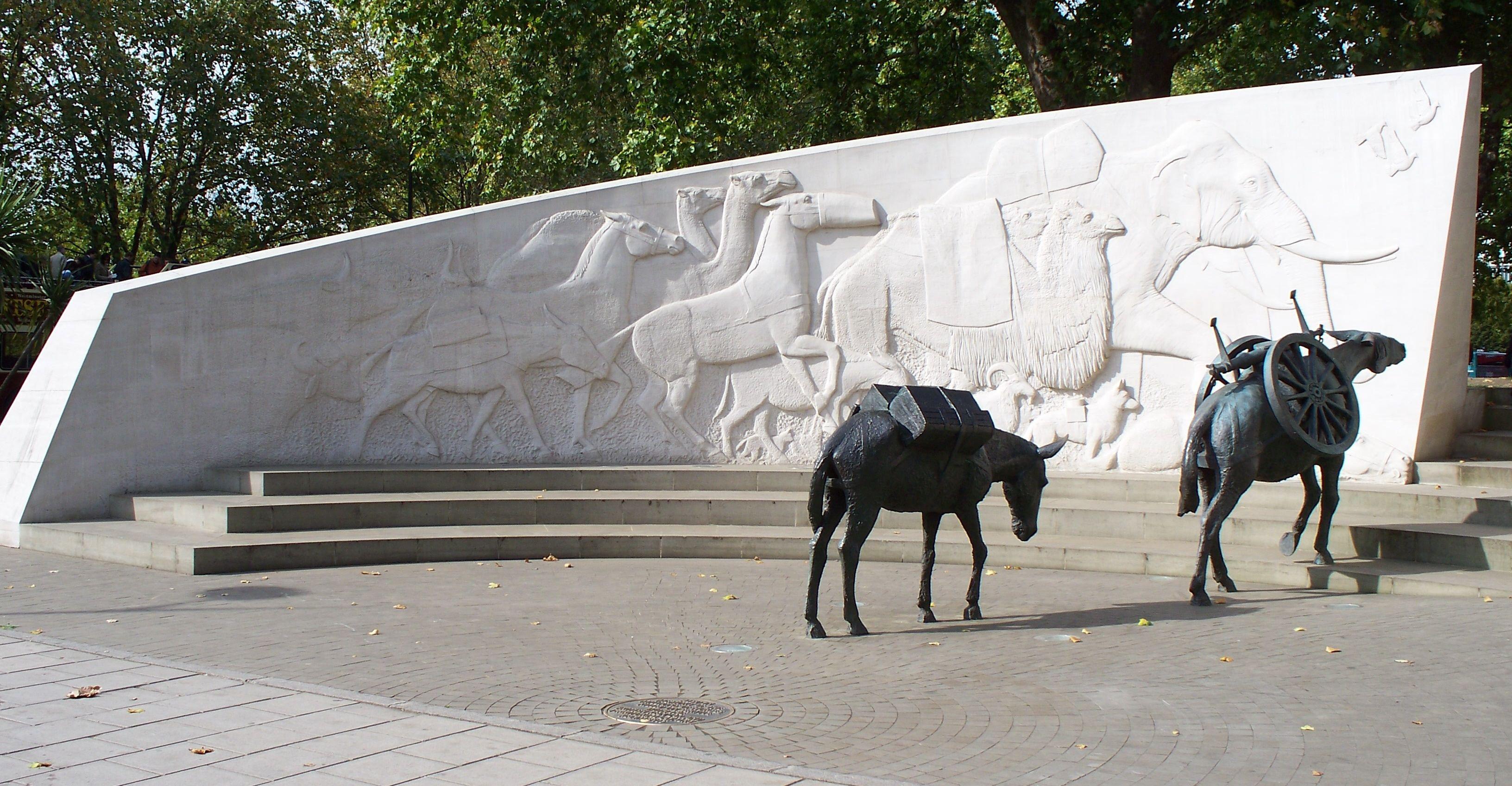 The Animals in War Memorial: