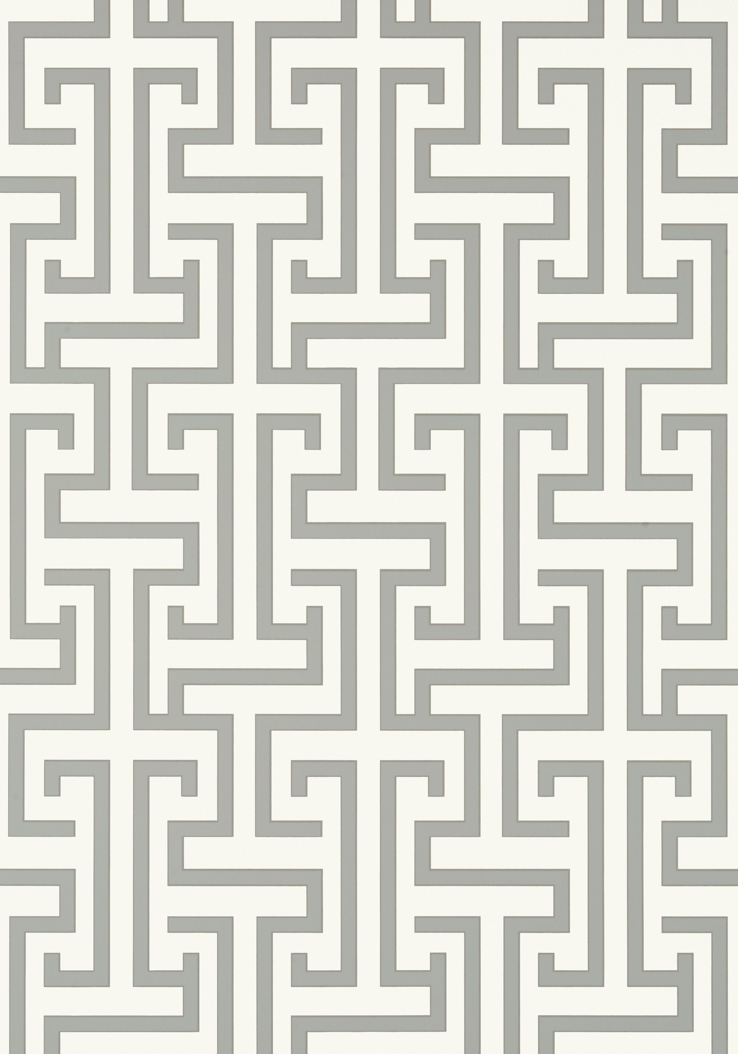 Ming Trail Grey T75475 Collection Dynasty From Thibaut