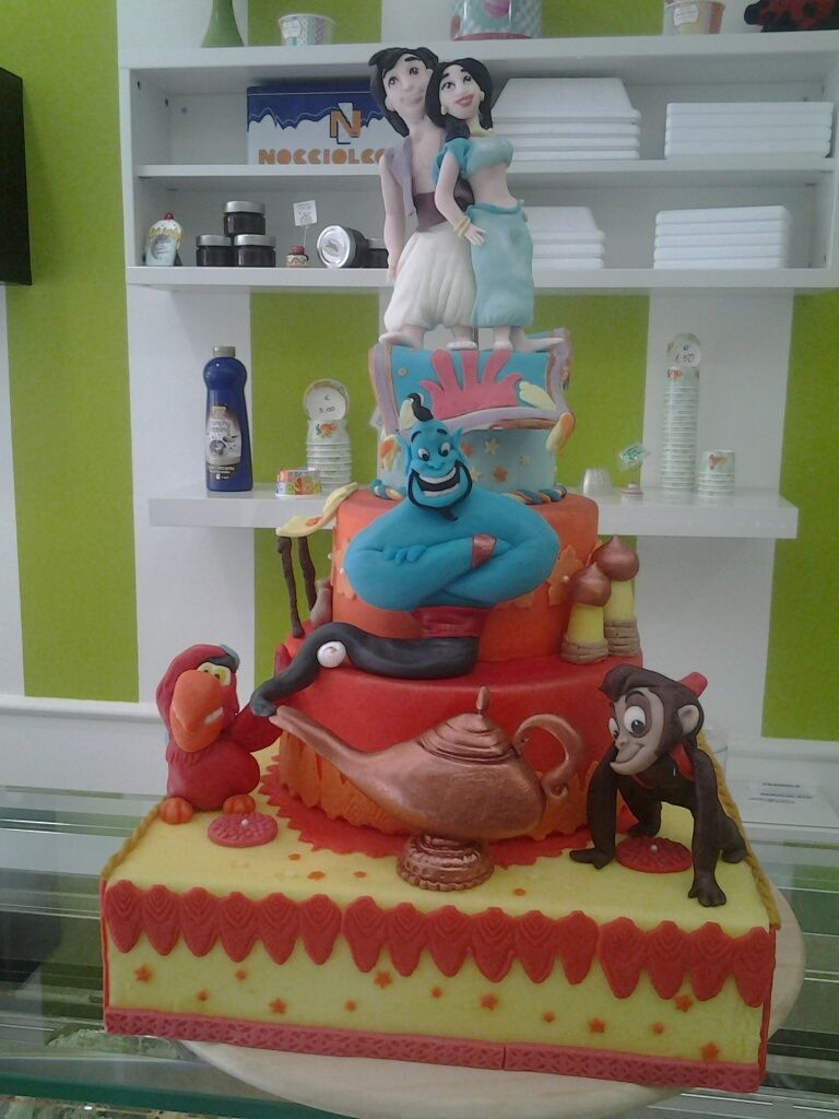 Marco renie cake design mrsweetie roma pinterest aladdin cake