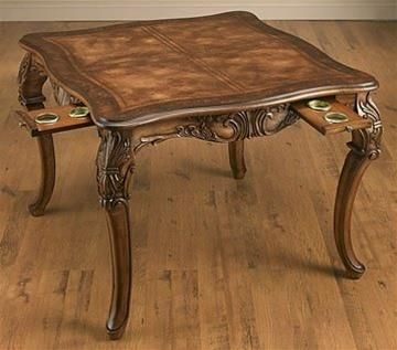 High Quality Square Game Table 38680. H1Square Game Table 38680_h1This Appealing Square  Game Table 38680 Features Traditional