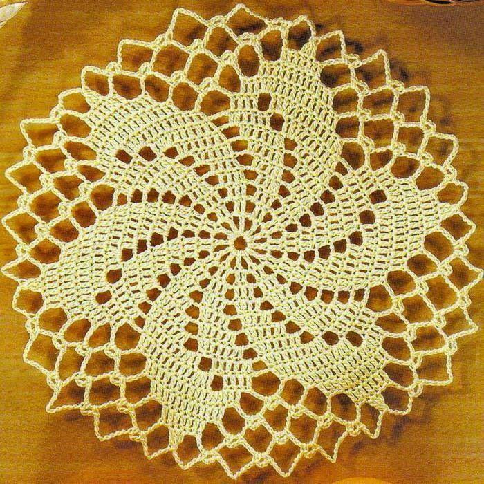 Crochet Patterns Of Small Doily                              …
