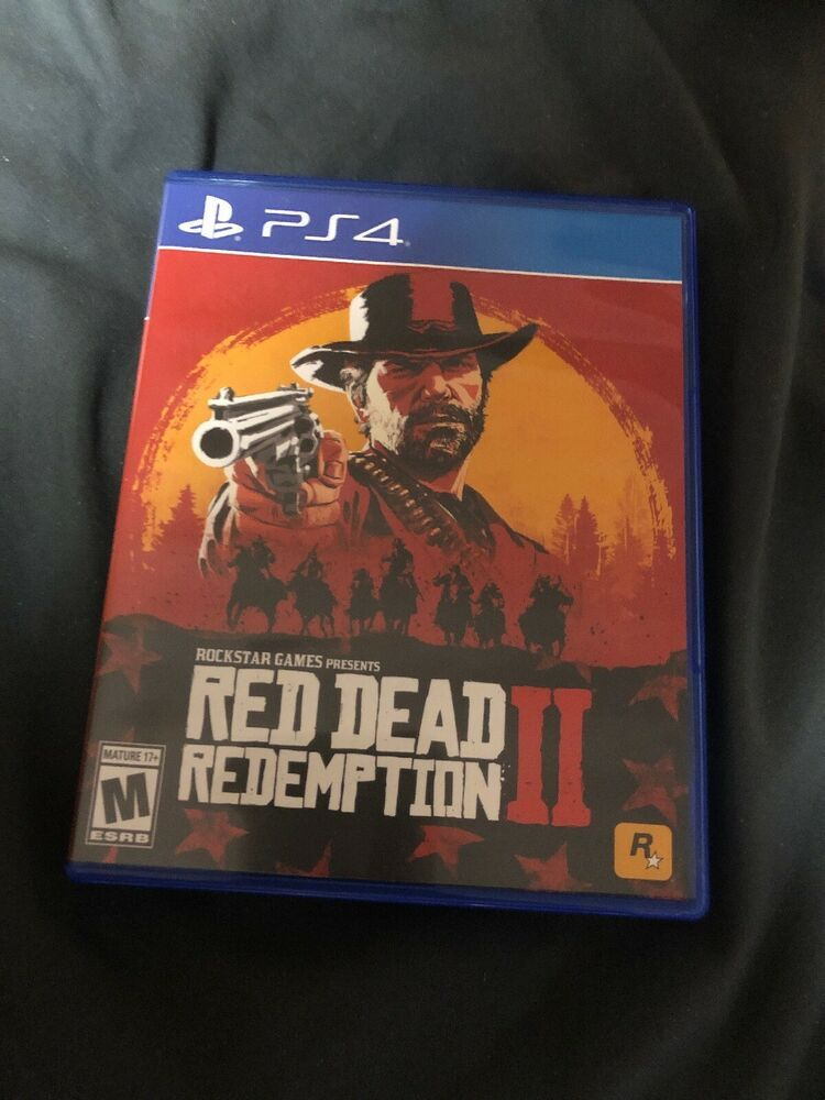 PS4 Game Red Dead Redemption 2 Unused Unlock able Code Included War