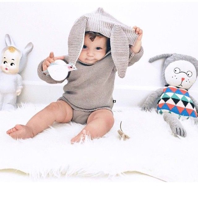 Oeuf nyc bunny hoodie via httpsinstagramp05czmylmpq babys first easter the cutest easter baby gifts bonjour baby baskets luxury baby gifts negle Gallery
