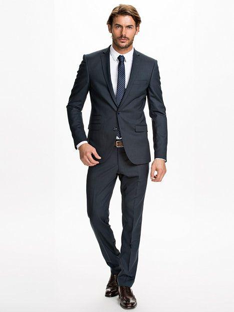 Nedvin Suit Tiger Of Sweden Blå Kostymer Kläder Man NlyMan