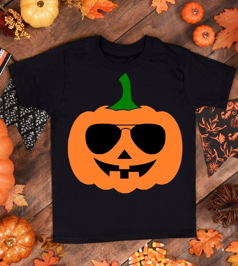 Pumpkin with glasses Svg Pumpkinface svg for Cricut