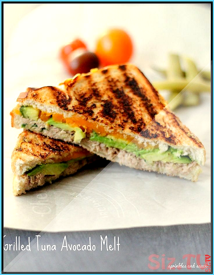 Grilled Tuna Avocado Melt Grilled Tuna Avocado Melt allbymyeyes Save Images allbymyeyes One will al
