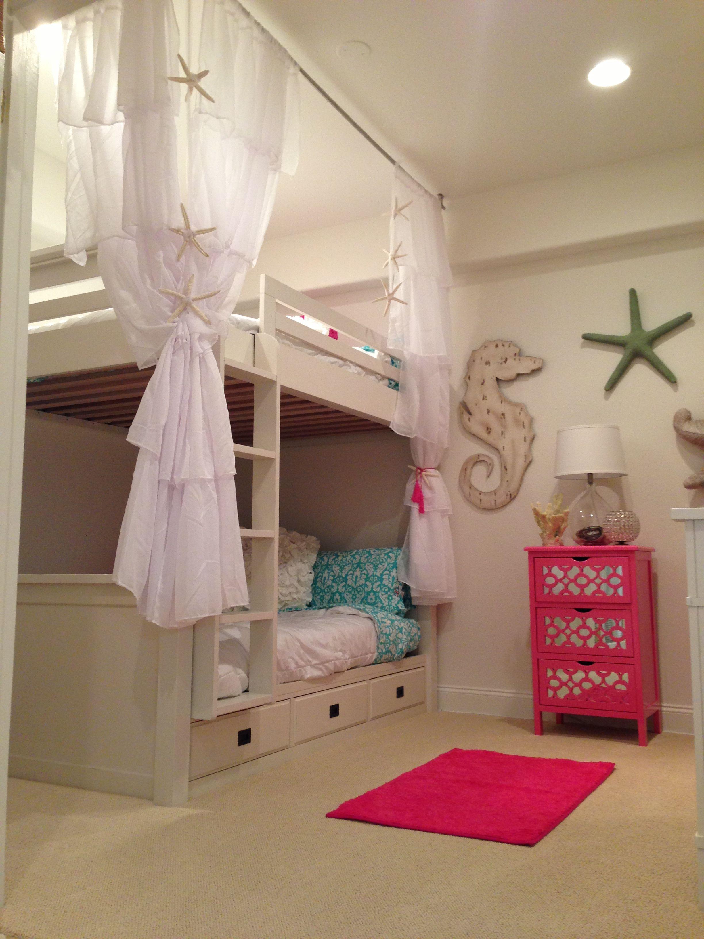 Girls beach bedroom For the Home Pinterest Girls