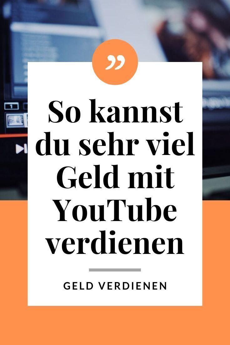 youtube kanal erstellen geld verdienen