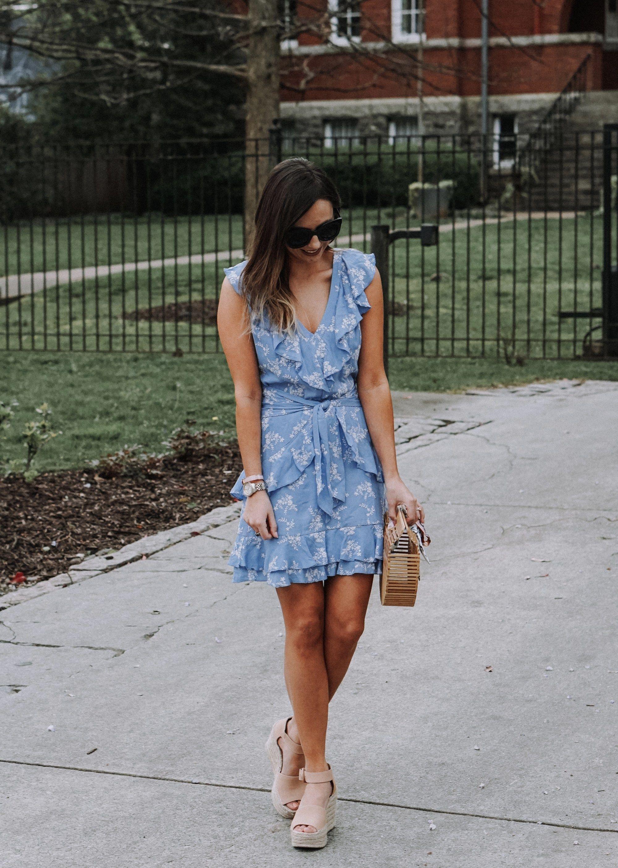 83ae7fbf888 Blue Parker Dress