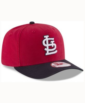 cheaper f4f2d 197d1 New Era St. Louis Cardinals Vintage Washed 9FIFTY Snapback Cap - Red Navy  Adjustable