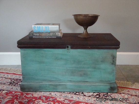 Captivating Antique Tool Chest Coffee Table Trunk By CityGirlArts On Etsy, $350.00
