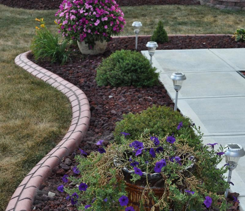 Red Lava Rock Indianapolis Decorative Rock Mccarty Mulch Landscaping With Rocks Lava Rock Landscape Landscaping Tips