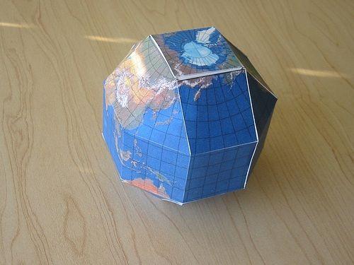 paper globe craft