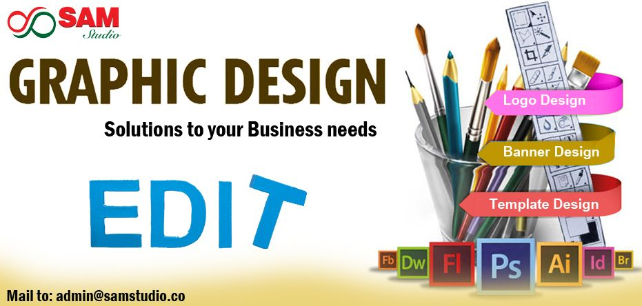 Graphic Design Services for advertising and marketing