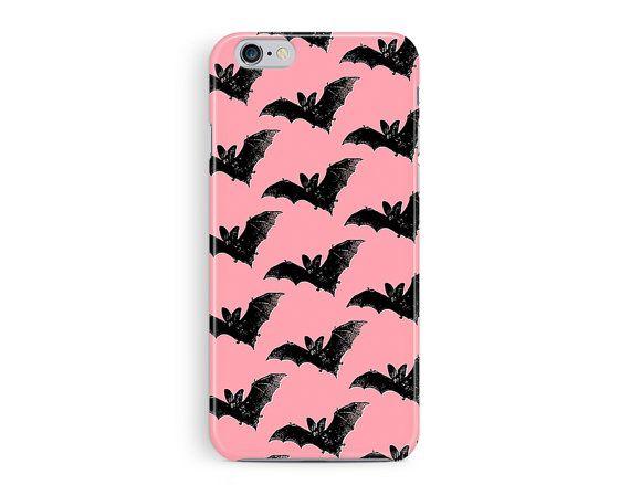 iPhone 7 Case, iPhone 7 Cover, Bat iPhone 7 Case, Goth Phone Case, Protective iPhone 7, Goth Girl, Vampire iPhone 7 Case, New iPhone 7 case