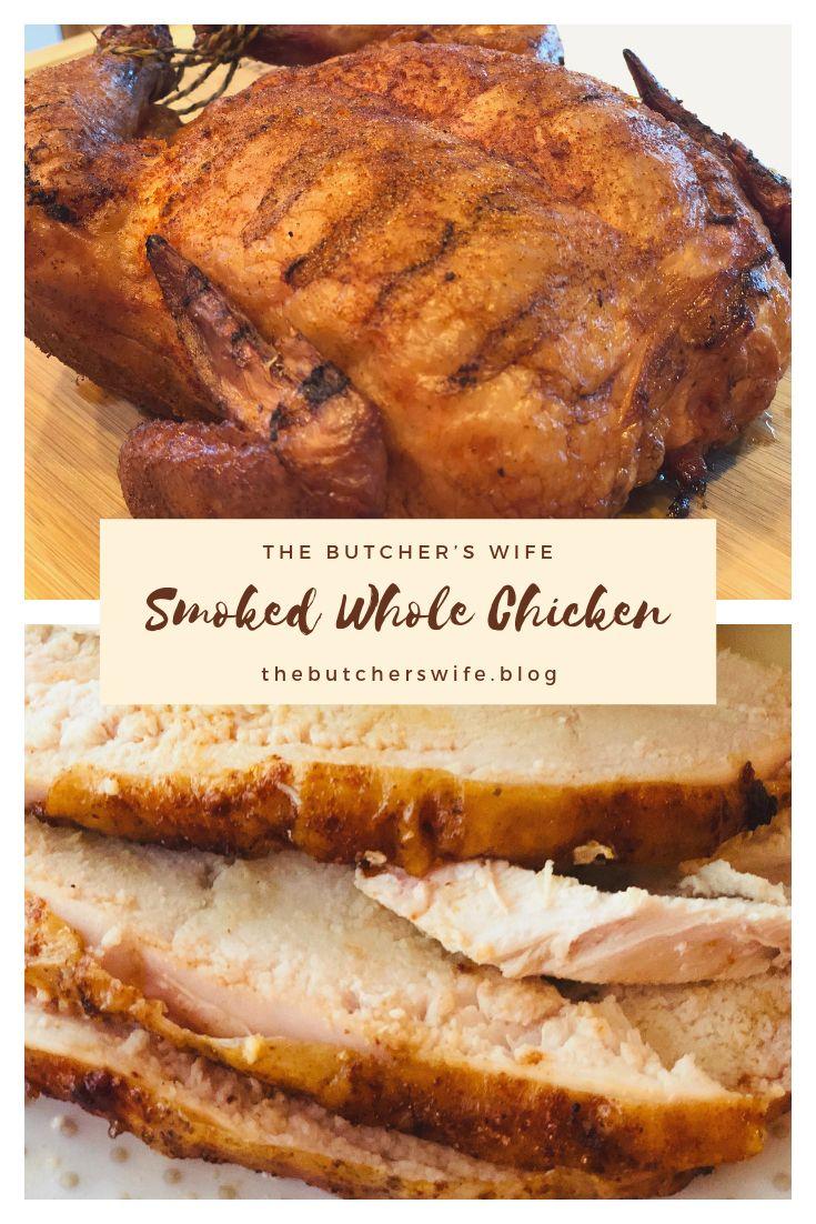 Smoked Whole Chicken Recipe Stuffed Whole Chicken Smoked Food Recipes Smoked Whole Chicken