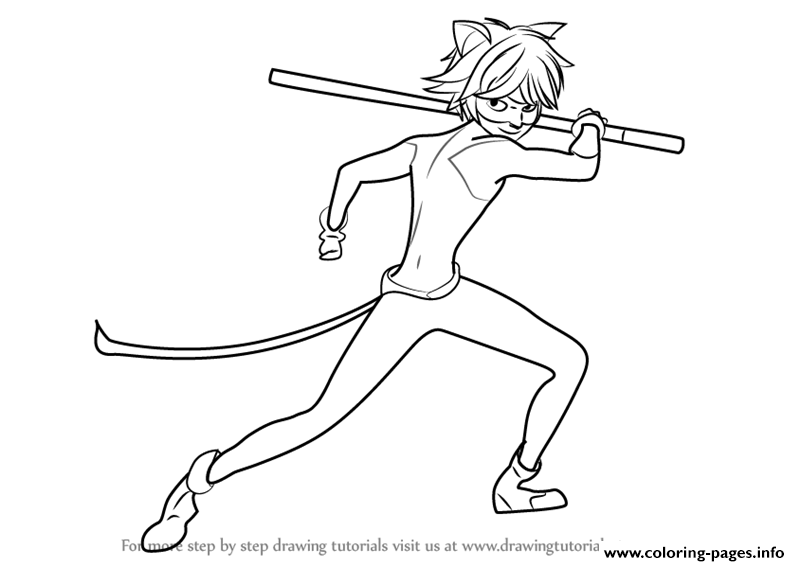 Print Miraculous Ladybug And Cat Noir Drawings Coloring Pages Ladybug Coloring Page Cartoon Coloring Pages Ladybug