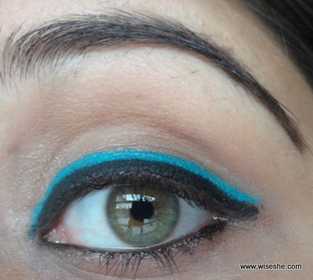 everyday double eyeliner eye makeup tutorial with images