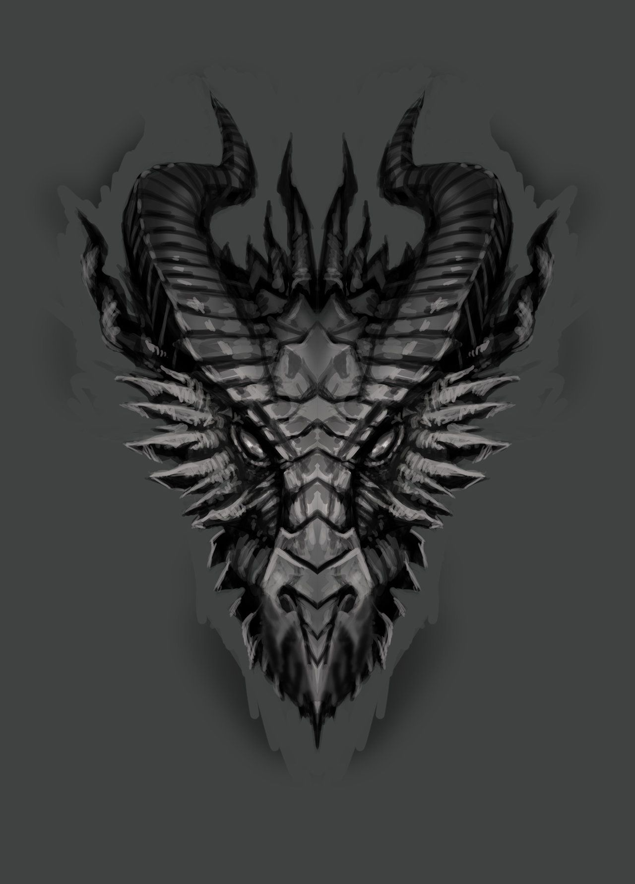 dragon face - Google Search | Characters | Dragon head ...