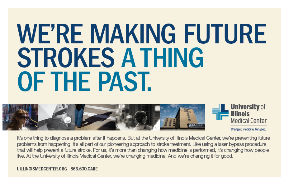 hospital advertising for University of Illinois Medical