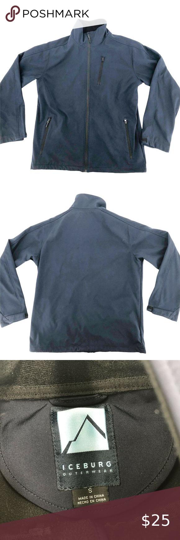 Iceberg Outerwear Men Zip Up Jacket S Outerwear Clothes Design Mens Outerwear [ 1740 x 580 Pixel ]