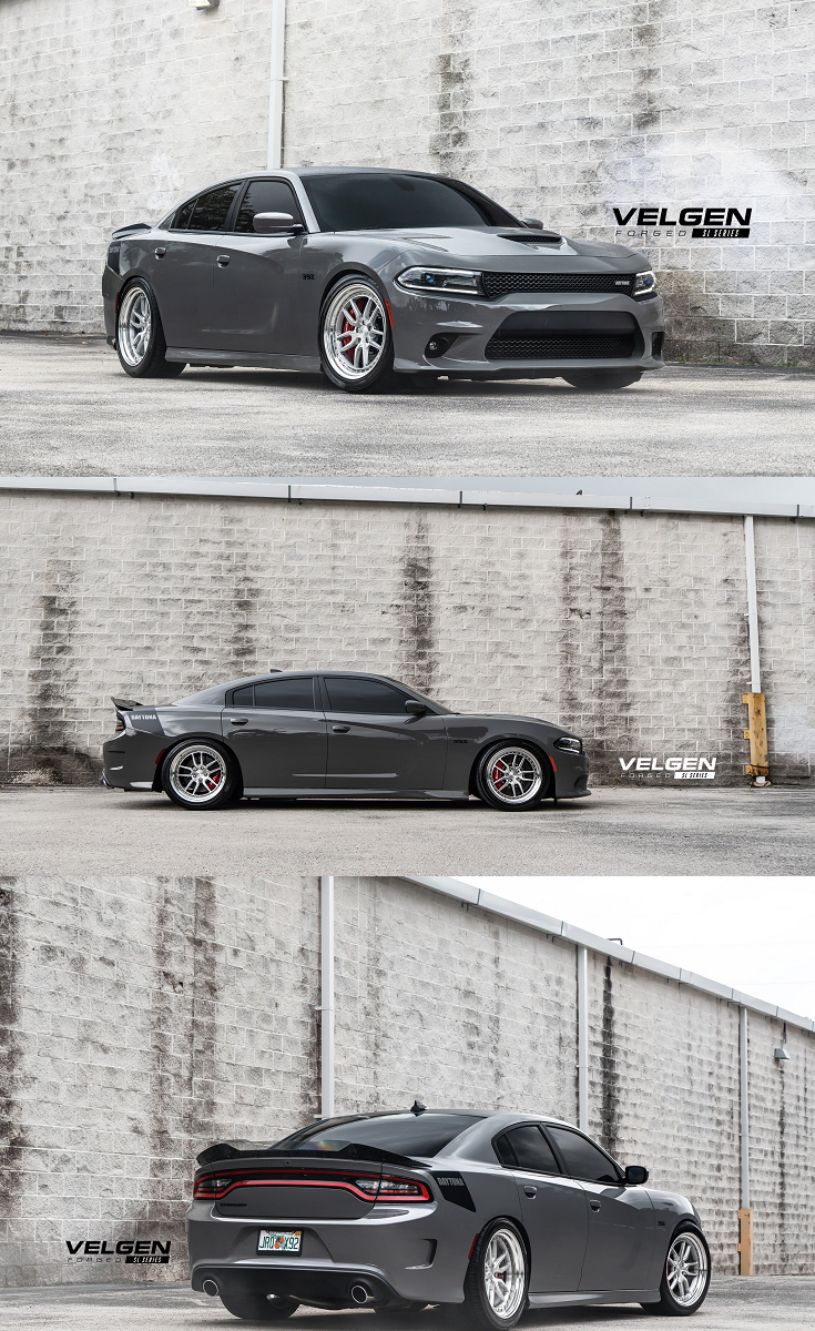 Dodge Charger Daytona Gets Plenty Of Attention With Contrasting Black Accents Dodge Charger Daytona Dodge Charger Custom Wheels