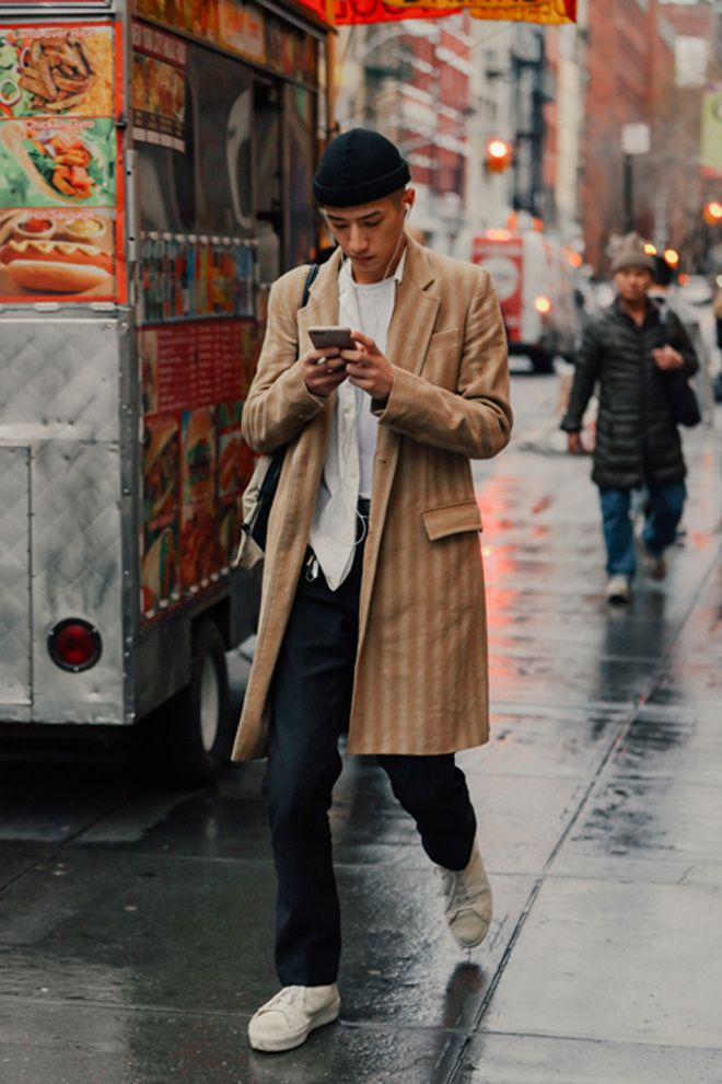 690bb284 Street looks à la Fashion Week homme de New York ...